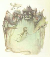 Dagmar Berková画の人魚姫 - Books