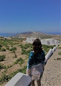 紺碧と白のサントリー二島、ギリシャの旅ーその④ - アートで輪を繋ぐ美空間Saga