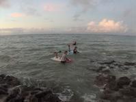 Foil surf ファミリー - Lets パドリング