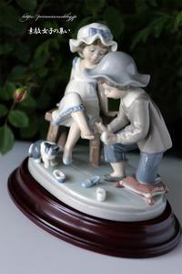 リヤドロのお人形① - ♪Princess Craft  シニア素敵女子の集い