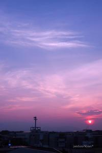 昨日の夕空 - jumhina biyori*