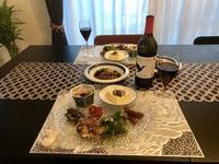 ワインのある食卓 - カフェ気分なパン教室  ローズのマリ
