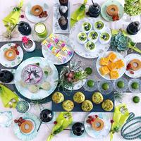 ピクニックな昼下がり - nico☆nicoな暮らし~絵付けと花とおやつ