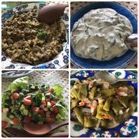 3日連続のお客様 最終日はトルコ料理でおもてなし♪ - リタイア夫と空の旅、海の旅、二人旅