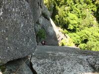 【スクール】瑞牆山十一面岩正面壁  「ベルジュエール」 - ちゃおべん丸の徒然登攀日記