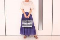 AC:ティアードプリーツスカート着回しコーデ - クロスプラスブログ