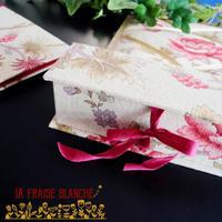 『BOOK型の箱』 - カルトナージュ教室 & ハンドクラフト教室 ~ La fraise blanche ~ ラ・フレーズ・ブロンシュ