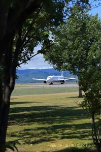 夏のアーチ~旭川空港~ - 自由な空と雲と気まぐれと ~from 旭川空港~