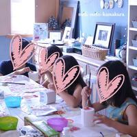 ◆デコパージュ*可愛い容れモノ色々♪キッズレッスン - フランス雑貨とデコパージュ&ギフトラッピング教室 『meli-melo鎌倉』