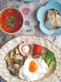 ズッキーニごはん - 陶器通販・益子焼 雑貨手作り陶器のサイトショップ 木のねのブログ