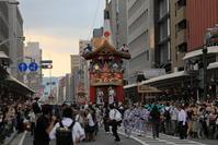 祇園祭前祭曳き初め後編長刀鉾 - ぴんぼけふぉとぶろぐ2