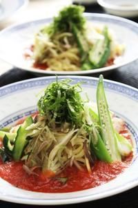 トマトだれ冷やし中華 - 登志子のキッチン