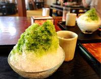 今年初のかき氷は昔懐かしい味がする「古桑庵」で - Coucou a table!      クク アターブル!