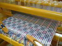 変形二重織り - アトリエひなぎく 手織り日記
