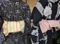 仕立て上がったばかり、トンボ柄の浴衣です。 - 京都嵐山 着物レンタル「遊月]・・・徒然日記