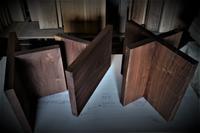 ローテーブル板脚 - SOLiD「無垢材セレクトカタログ」/ 材木店・製材所 新発田屋(シバタヤ)