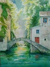 イタリア - まり子の水彩画
