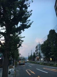 夕方のウォーキング - 京都西陣 小さな暮らし