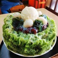 北九州市「お多福餅本舗」 - 福岡の抹茶かき氷