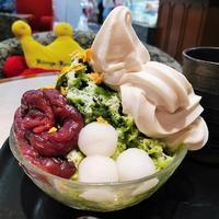 小倉井筒屋「KONIGS KRONE」 - 福岡の抹茶かき氷