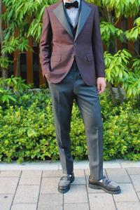 Grayish tuxedo - BISYUYA BLOG