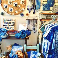 花屋de絞り染め藍々 - 藍が好き