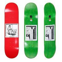 POLAR SKATE CO. 2019 FALL NEW DECK - Growth skateboard elements