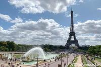 夏休みのエッフェル塔 - パリときどきバブー  from Paris France