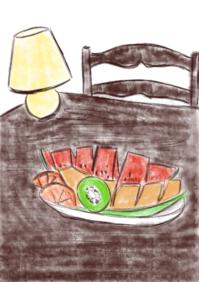 (長野旅行)松本到着 - たなかきょおこ-旅する絵描きの絵日記/Kyoko Tanaka Illustrated Diary