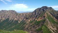 秋の八ヶ岳主稜線縦走 - 山と元太