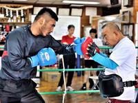 クドゥラ金子試合決まりましたよー - 本多ボクシングジムのSEXYジャーマネ日記