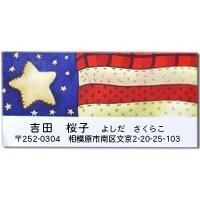 アメリカ☆自由の女神 - アメリカ輸入のシール♪住所/名前/お好きな文字を印刷してお届け♪アドレスラベルです。
