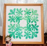 NMさん作品ピカケ(35×35... - ほっと一息・・~Sakura's Hawaiian QuiltⅡ