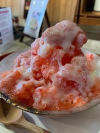 苺一笑(いちごいちえ)のかき氷 - 器季家倶楽部