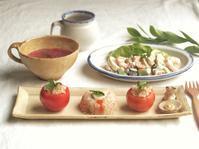 トマトカップライスの朝ごはん - 陶器通販・益子焼 雑貨手作り陶器のサイトショップ 木のねのブログ
