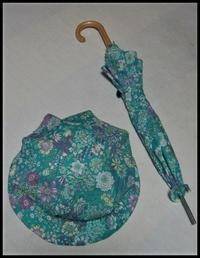 チクチク手縫いで(日傘・帽子) - ひだまり●●●陽のあたる場所みつけました