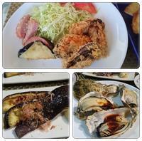 冷凍牡蠣と米茄子で - 気ままな食いしん坊日記2