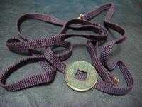 アンティーク古銭のデザイン帯留めK18 - アンティーク(骨董) テンナイン