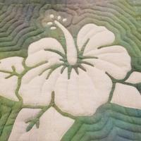 リバースハイビスカスbag🌺 - takakomamaのキルトパラダイス