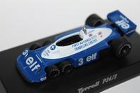 1/64 Kyosho Tyrrell F1 P34/2 【1977】 - 1/87 SCHUCO & 1/64 KYOSHO ミニカーコレクション byまさーる