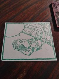 墓場鬼太郎・版画+娘のはなし。 - あいろく