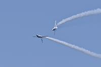 千歳基地航空祭ブルーインパルス予行2019.8.3 - やぁやぁ。