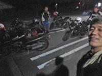 昨晩は涼みに箱根&富士山へ夜走り~~!(^O^)/ - フロントロウのGPZ900Rニンジャ旋回性向上計画!