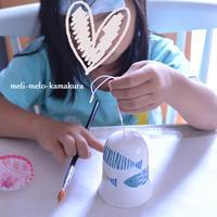 ◆デコパージュ*お熱のムスメと風鈴づくり - フランス雑貨とデコパージュ&ギフトラッピング教室 『meli-melo鎌倉』