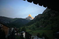 スイスで夏休み その9:氷河特急でアンデルマット - 雲フェチ