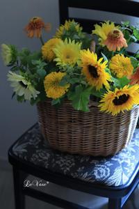 遅れましたが7月Living flowerクラスのご報告 - Le vase*  diary 横浜元町の花教室
