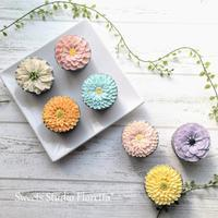 ALA餡クリームフラワーカップケーキ1レッスン始めます♪@滋賀 - Sweets Studio Floretta* Flower Cake & Sweets Class@SHIGA