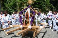 今日から富賀祭 - 三宅島風景