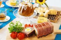 8月のレッスンはメロンパンからスタートです -  川崎市のお料理教室 *おいしい table*        家庭で簡単おもてなし♪