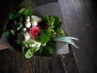 退職される方へ花束。2019/07/31。 - 札幌 花屋 meLL flowers